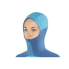 Norrøna W's Falketind Warm 1 Stretch Zip Hoodie Blue Moon